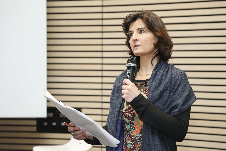 Fabienne Martin-Juchat, Chargée de mission valorisation SHS et cheffe de projet Maison de la Création et de l'innovation