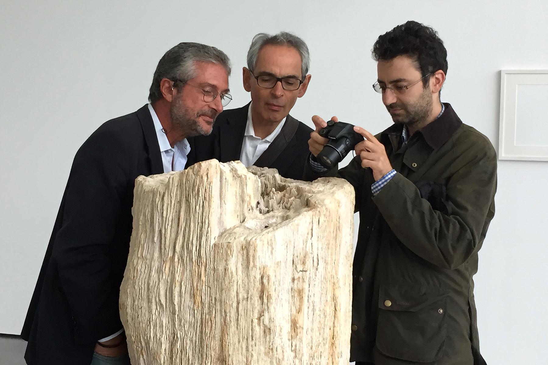 Première exposition à Aix-en-Provence © Cino Viggiano - Laboratoire 3SR