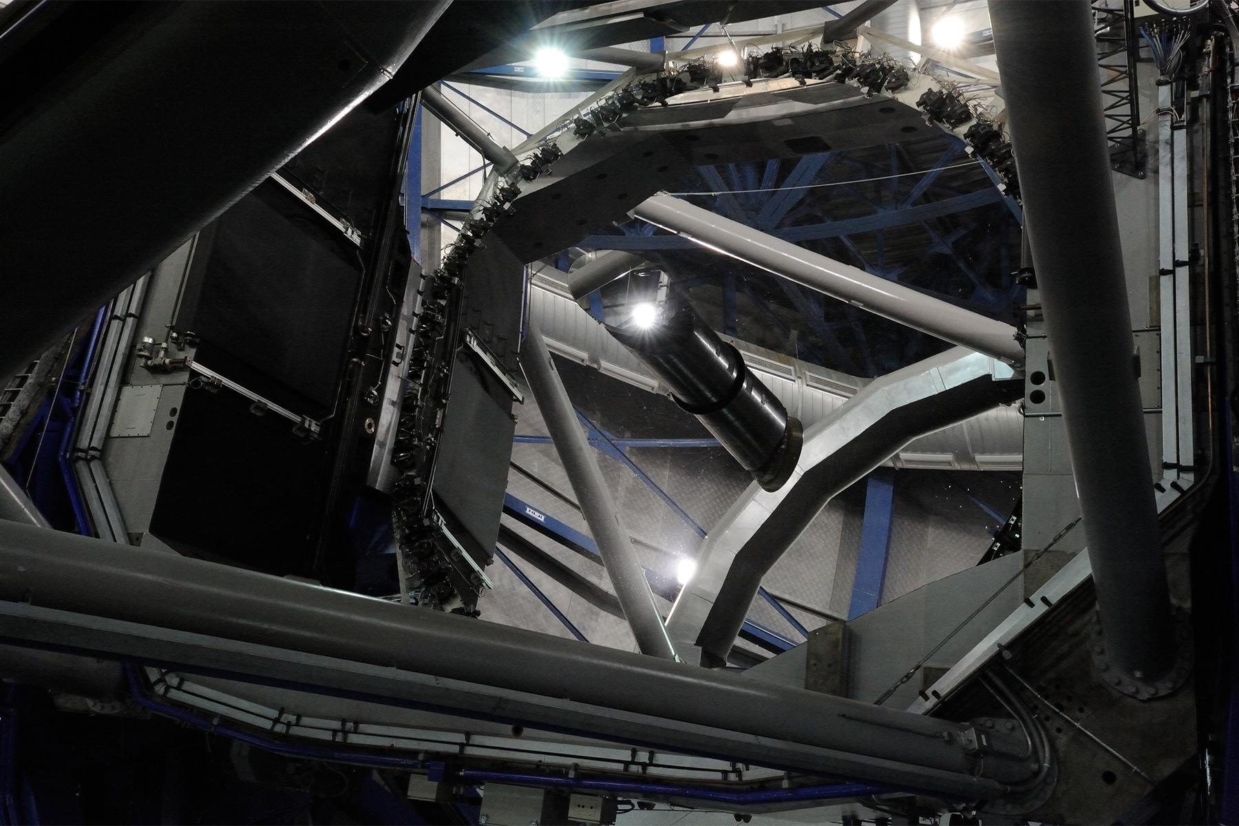 Téléscope de Paranal © Patricio Pardo Avalos
