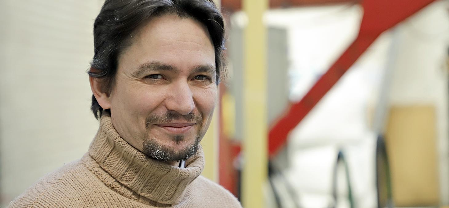 Yannick Sieffert, maître de conférences UGA et chercheur au laboratoire 3S-R ©Thierry Morturier