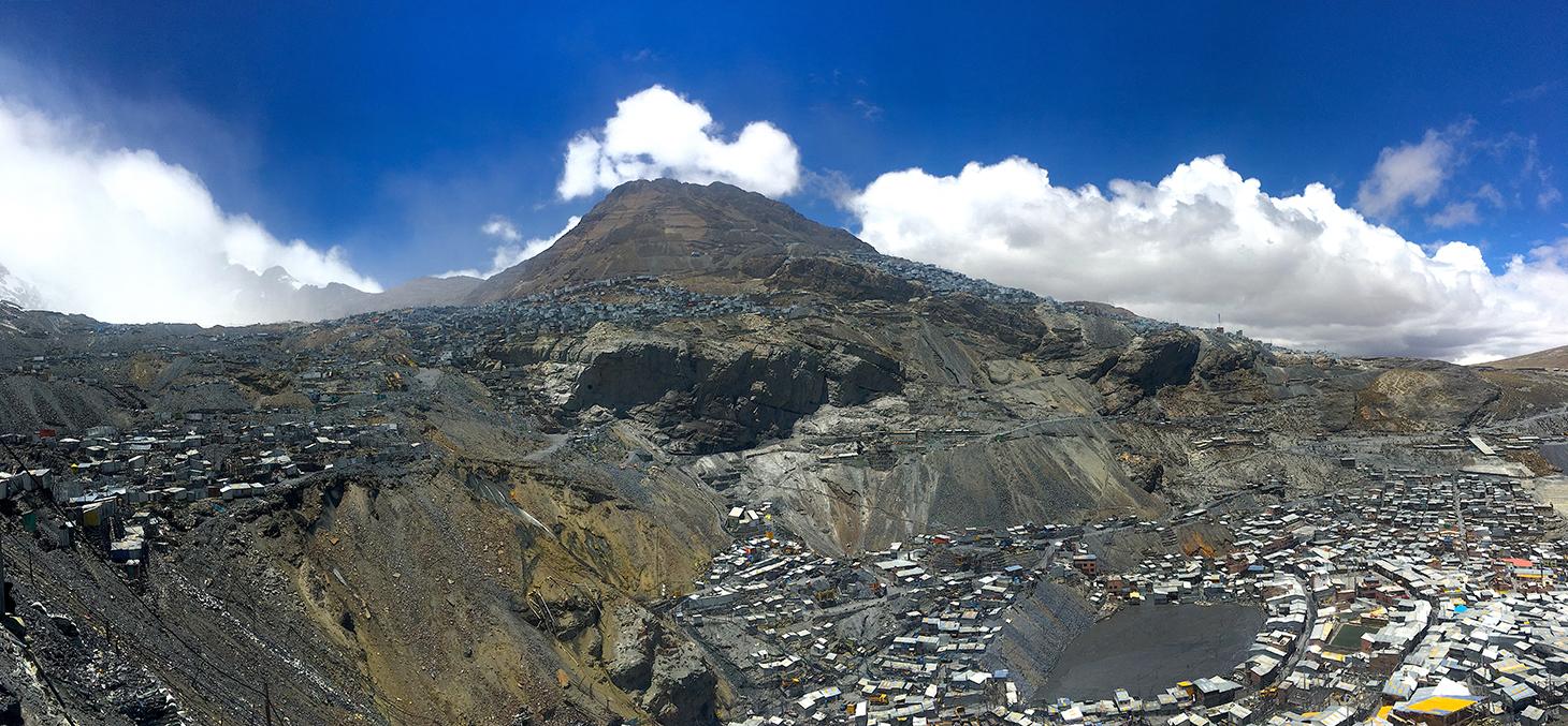 La Rinconada au Pérou, destination de l'Expédition 5300 - © Axel Pittet