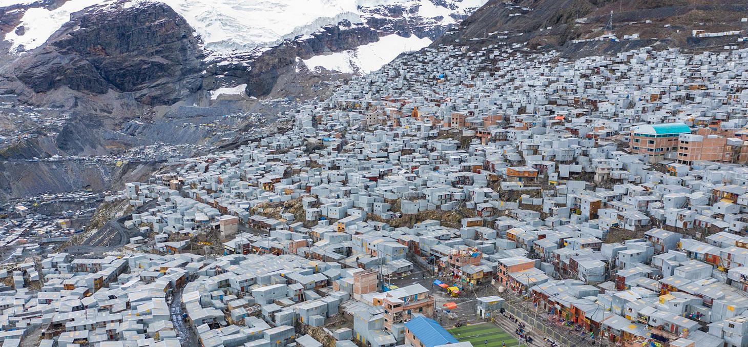 La Rinconada au Pérou, la ville la plus haute du monde © Expedition 5300