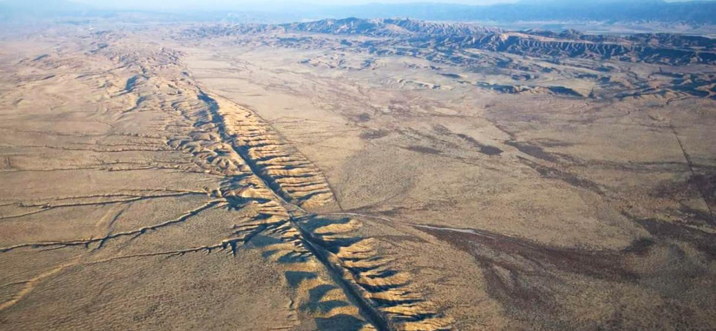 La faille de San Andreas en Californie