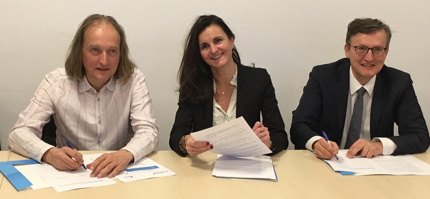 Signature de la convention de co-construction de l'outil ConPeRe le 12 décembre 2019 à la DGESIP