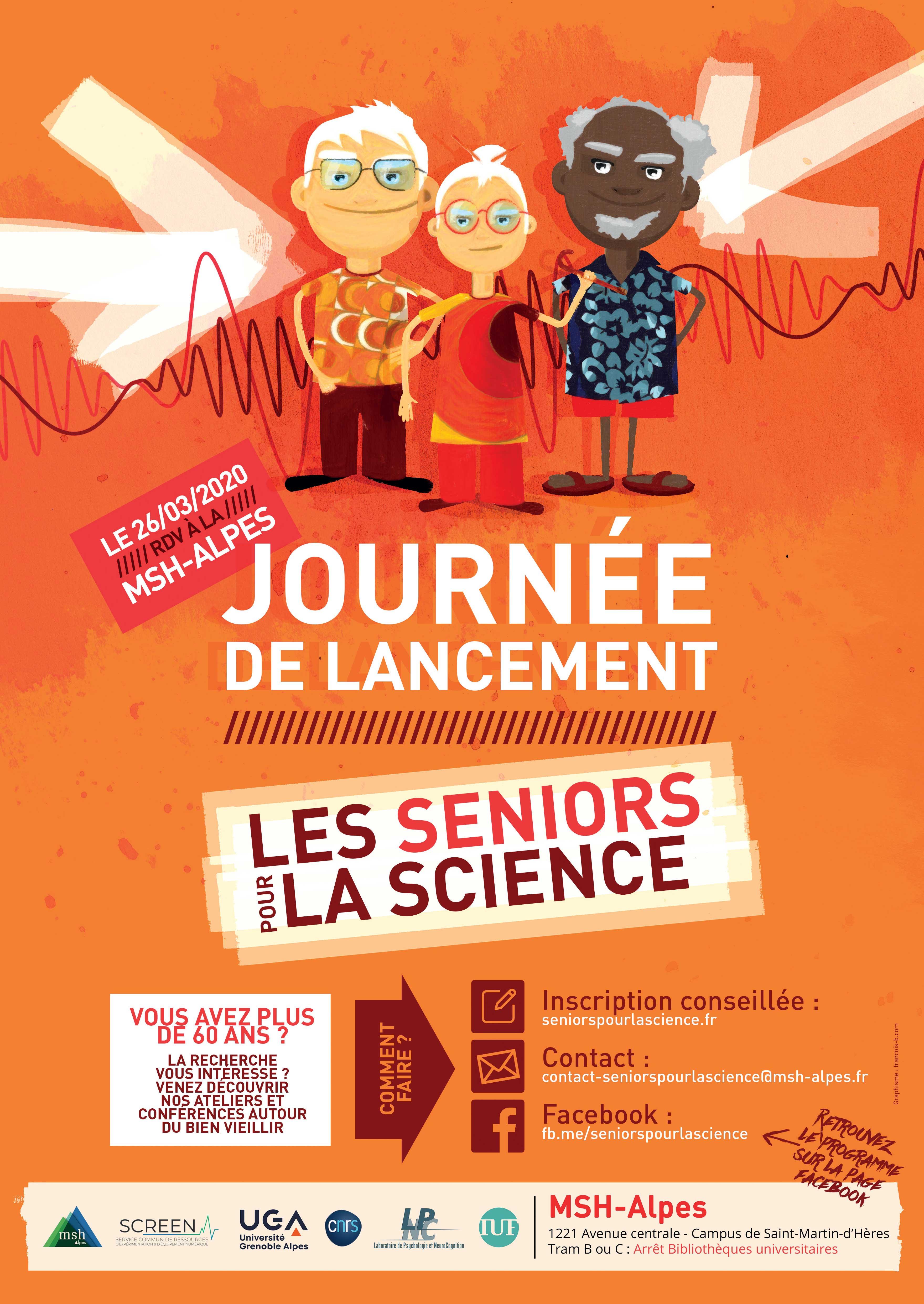 Les Seniors pour la science