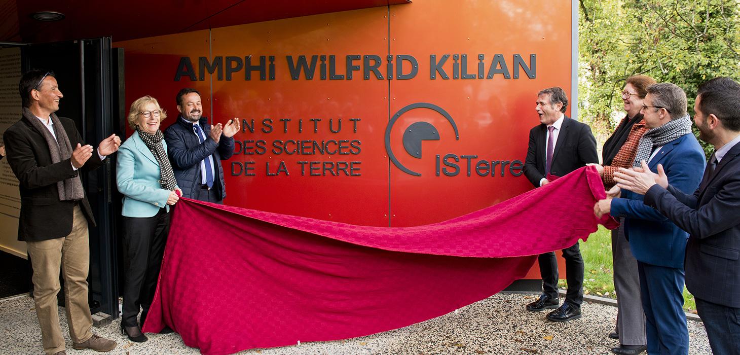 Inauguration de l'Amphi Kilian - Le 23 octobre 2017