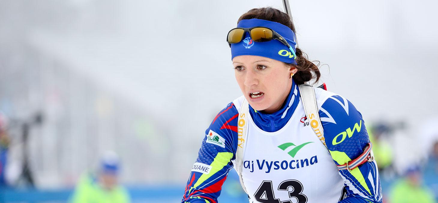 Anaïs Chevalier lors de la Coupe du Monde à Nove Mesto © Petr Toman / Shutterstock