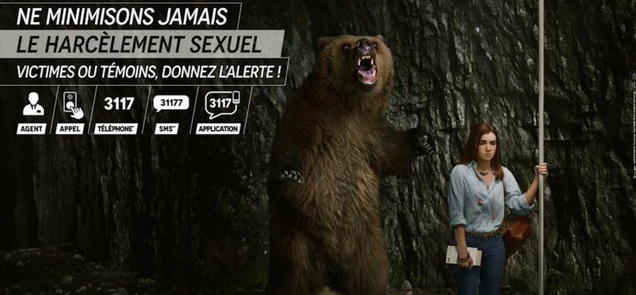 Une campagne décriée. © RATP