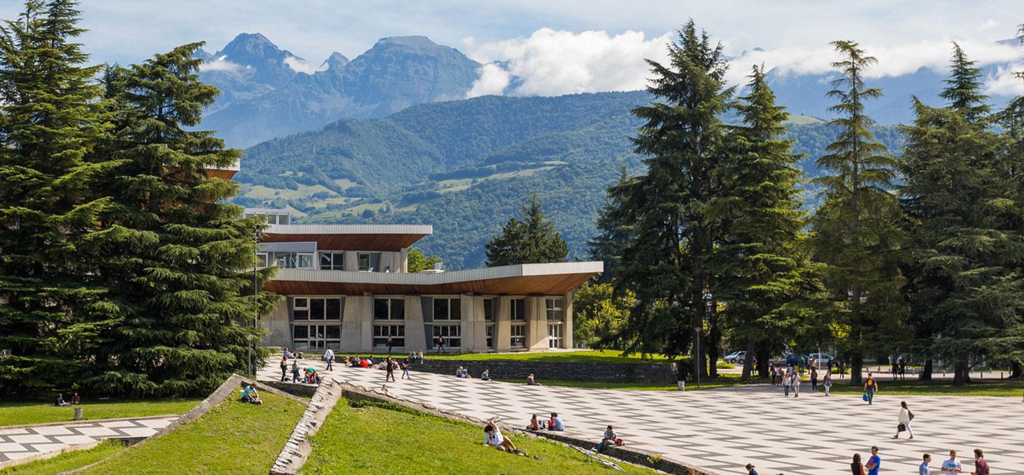 Le campus universitaire de Saint-Martin-d'Hères
