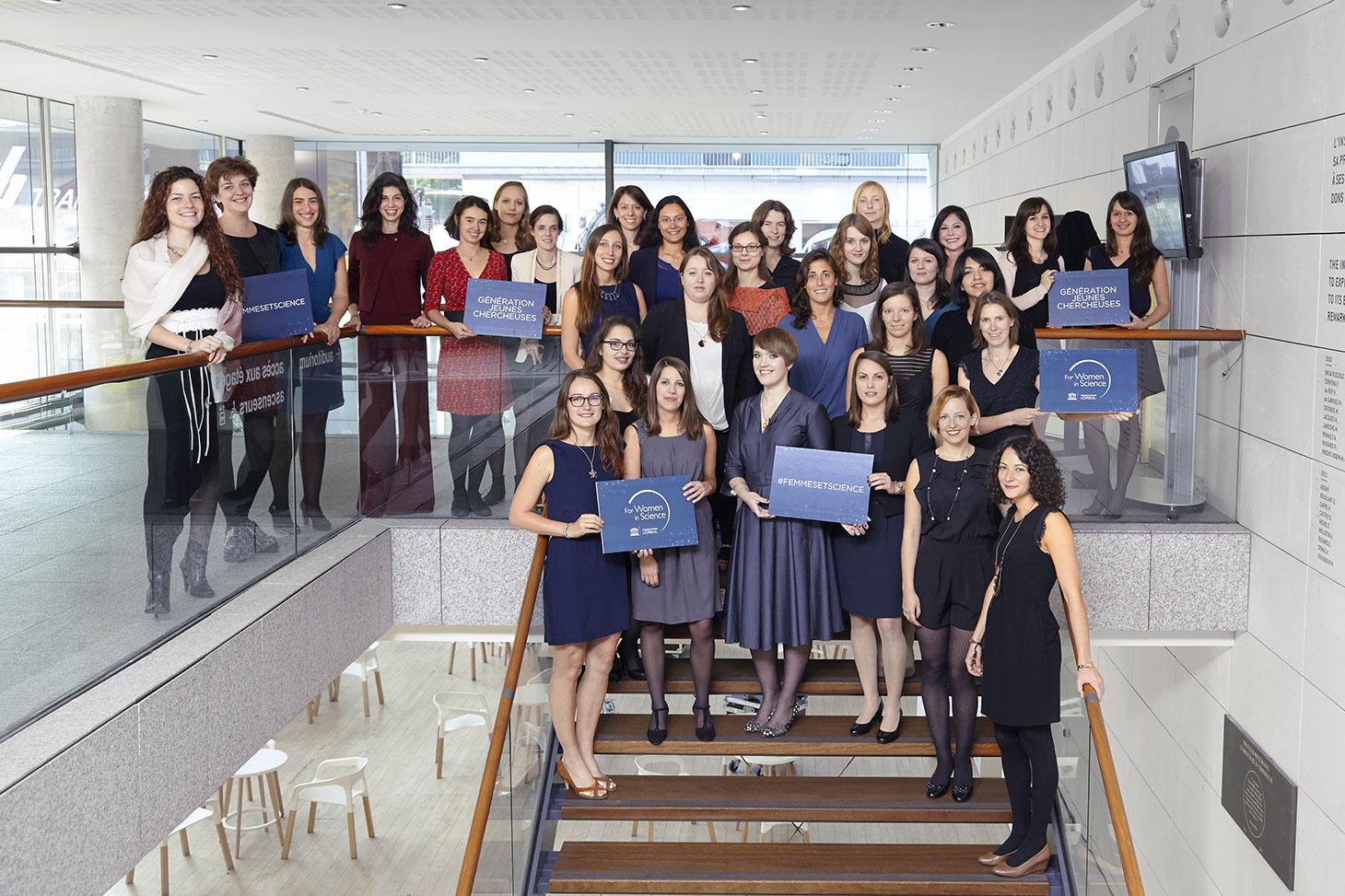 """Les 30 boursières L'Oréal-UNESCO """"Pour les Femmes et la Science"""" 2016 © Fondation L'Oréal"""