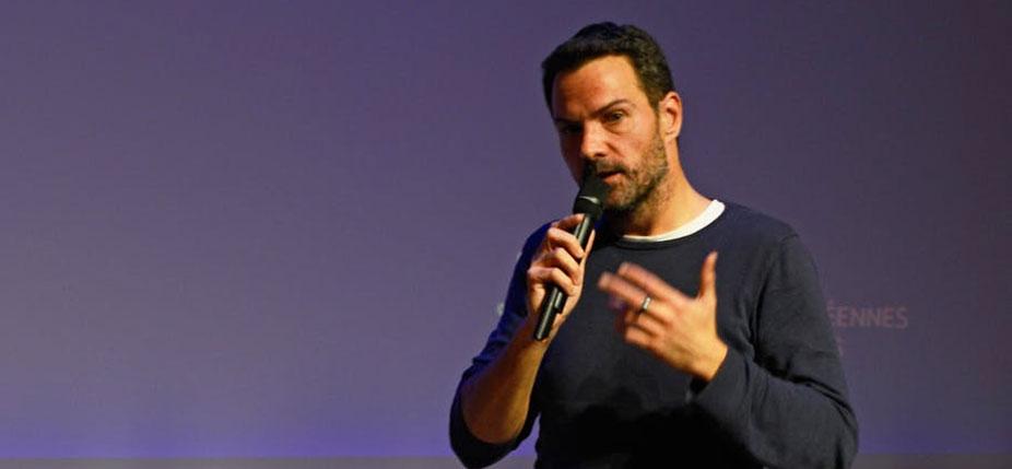 Jérôme Kerviel le 5 novembre 2017, à l'événement Popfinance Crowdfunding. © Max Malafosse / Wikimedia, CC BY-SA