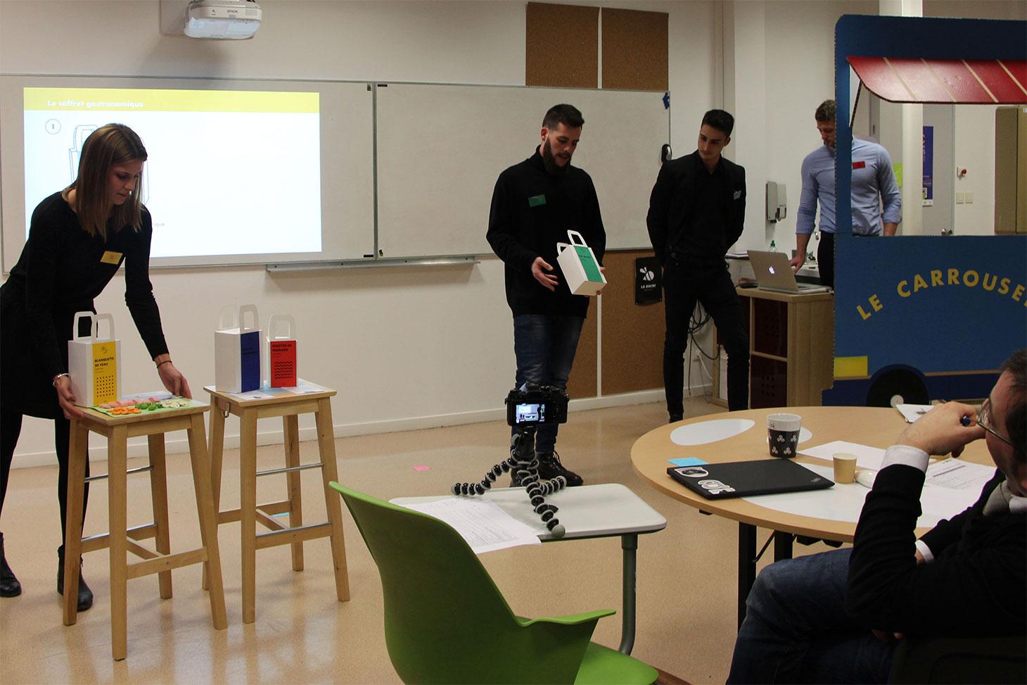 Les étudiants du master Management de l'innovation de Grenoble IAE