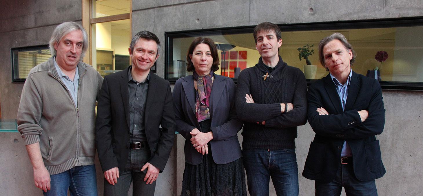 """L'équipe enseignante du MOOC """"Innovation et société"""""""