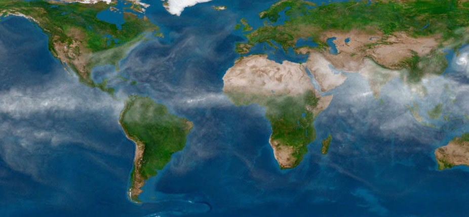 Simulation climatique. © Oak Ridge National Laboratory