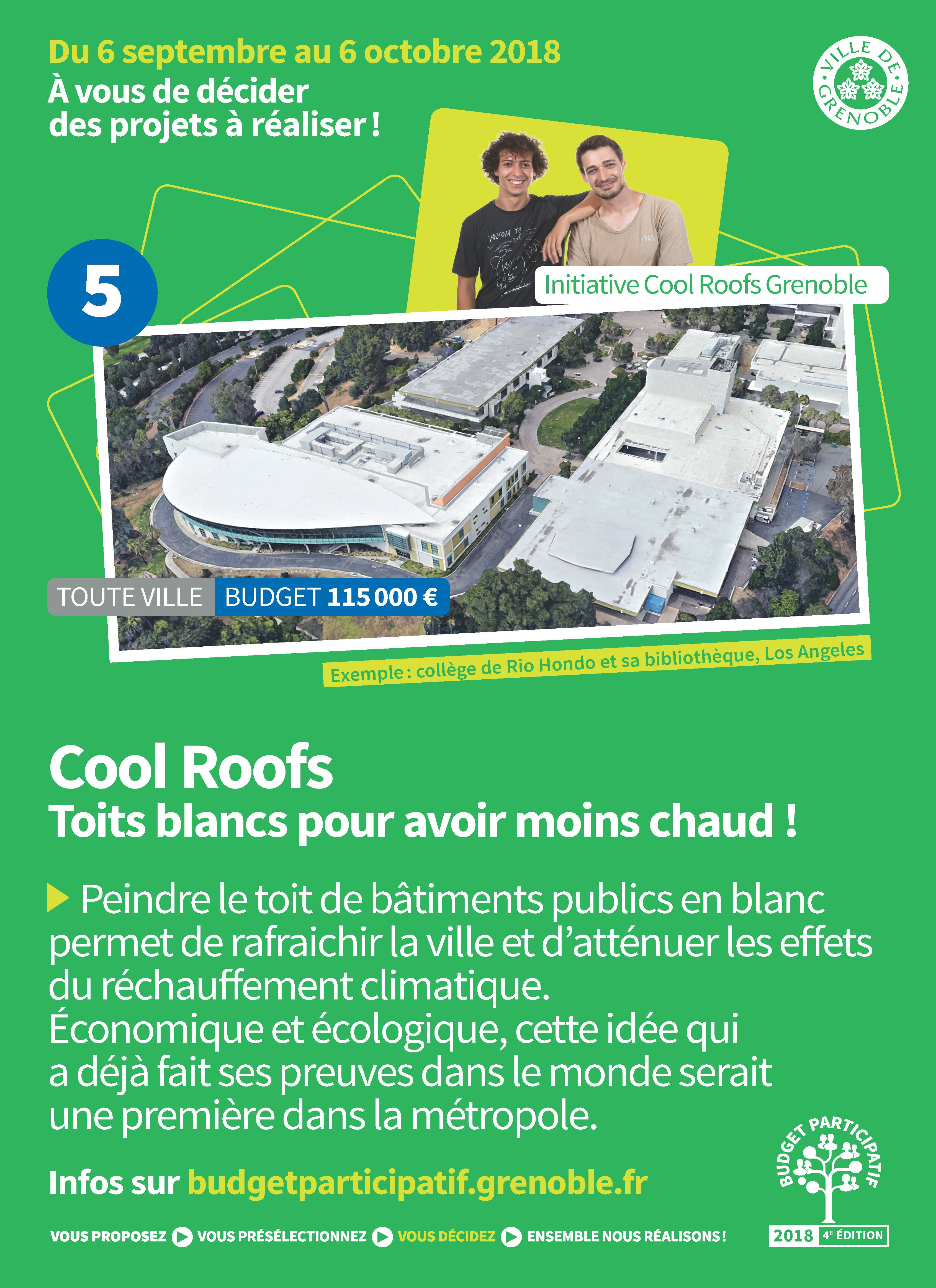 Projet Cool roofs
