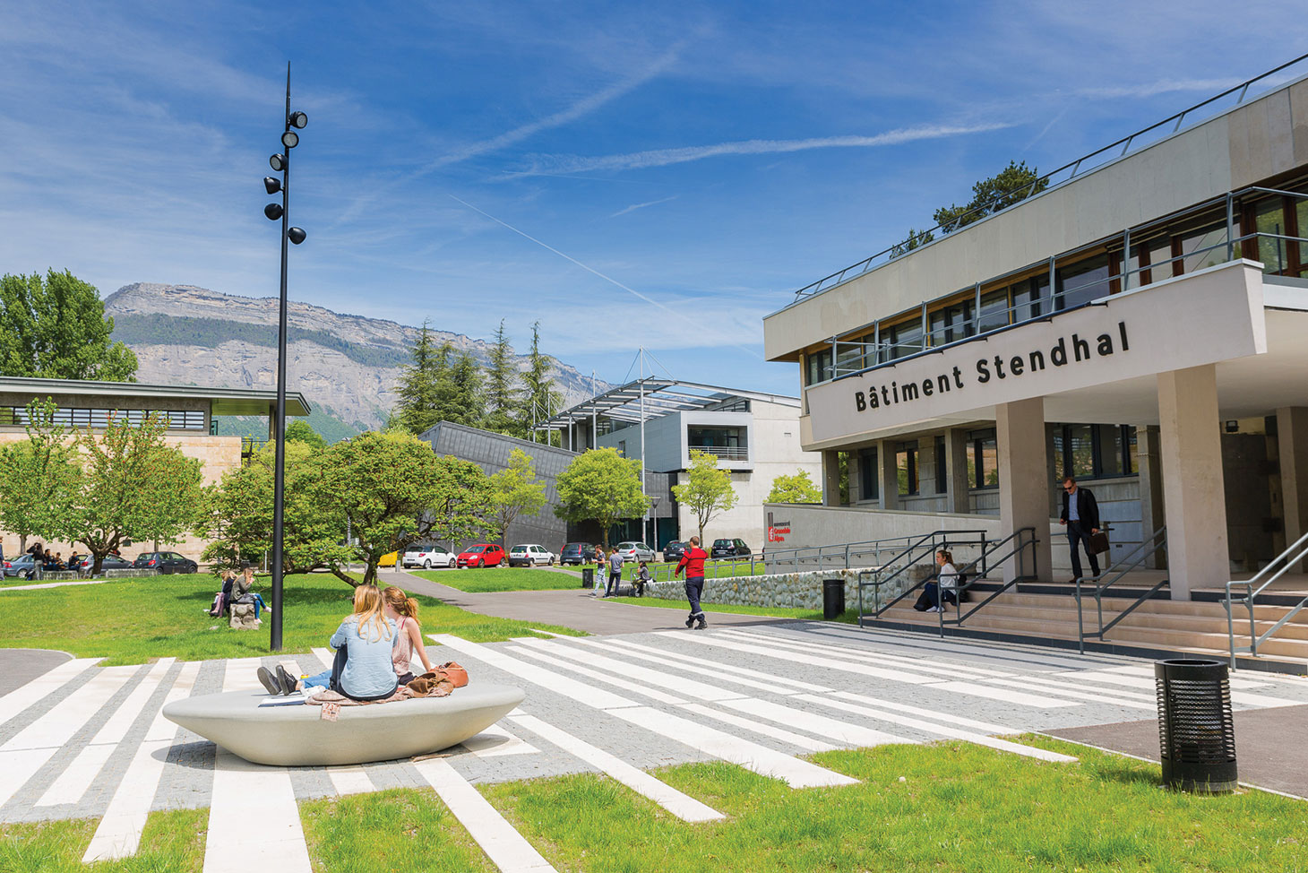 Le campus universitaire de Grenoble