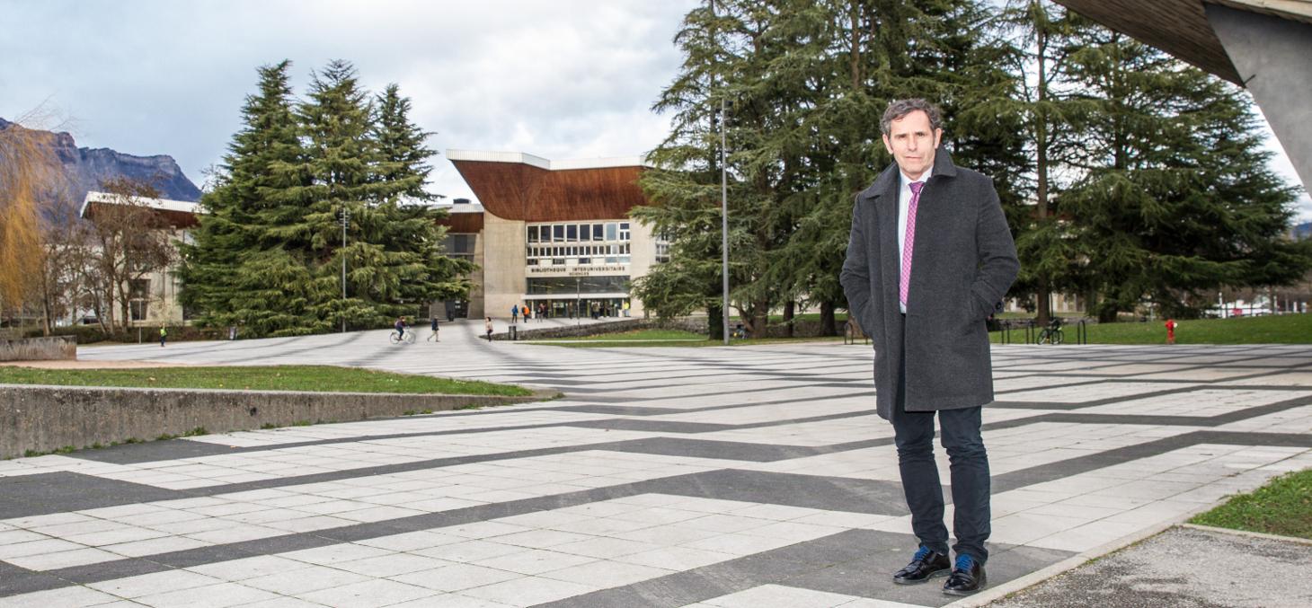 Patrick Lévy, président de l'Université Grenoble Alpes
