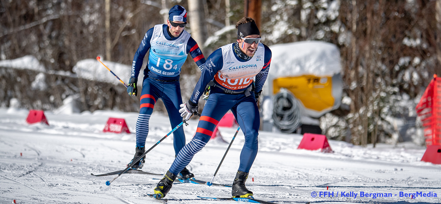 Simon Valverde et Anthony Chalençon aux mondiaux 2019 © FFH / Kelly Bergman - BergMedia