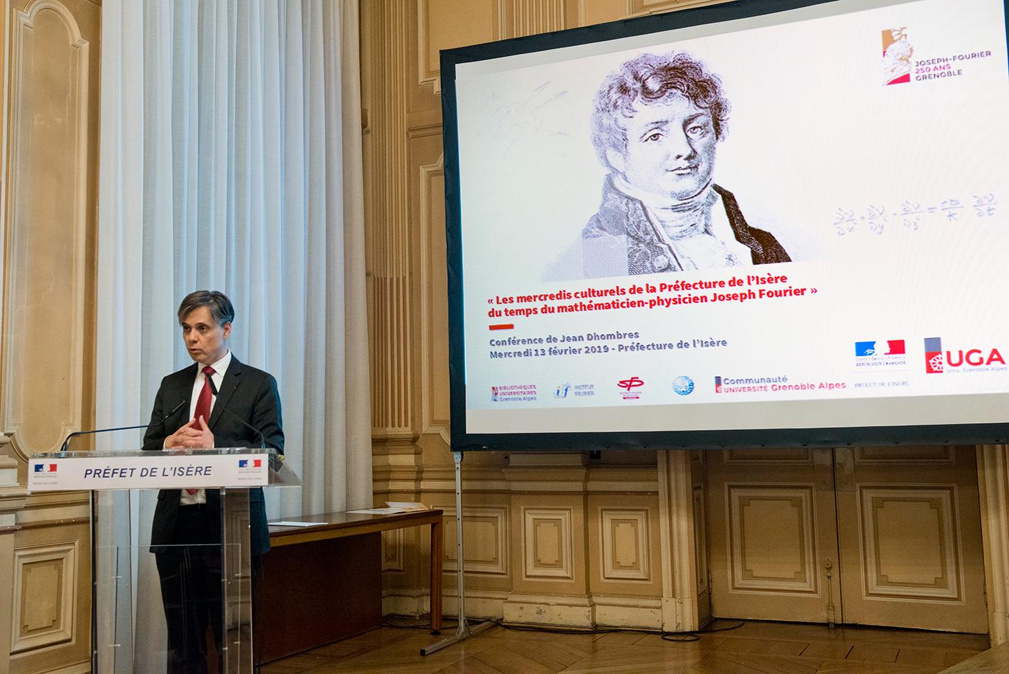 Discours du Préfet de l'Isère avant l'ouverture de la conférence
