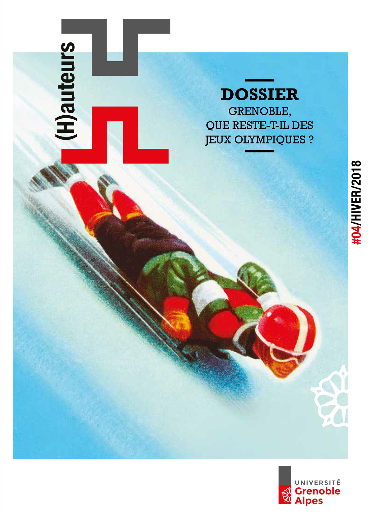 Couverture du numéro 4 du magazine (H)auteurs