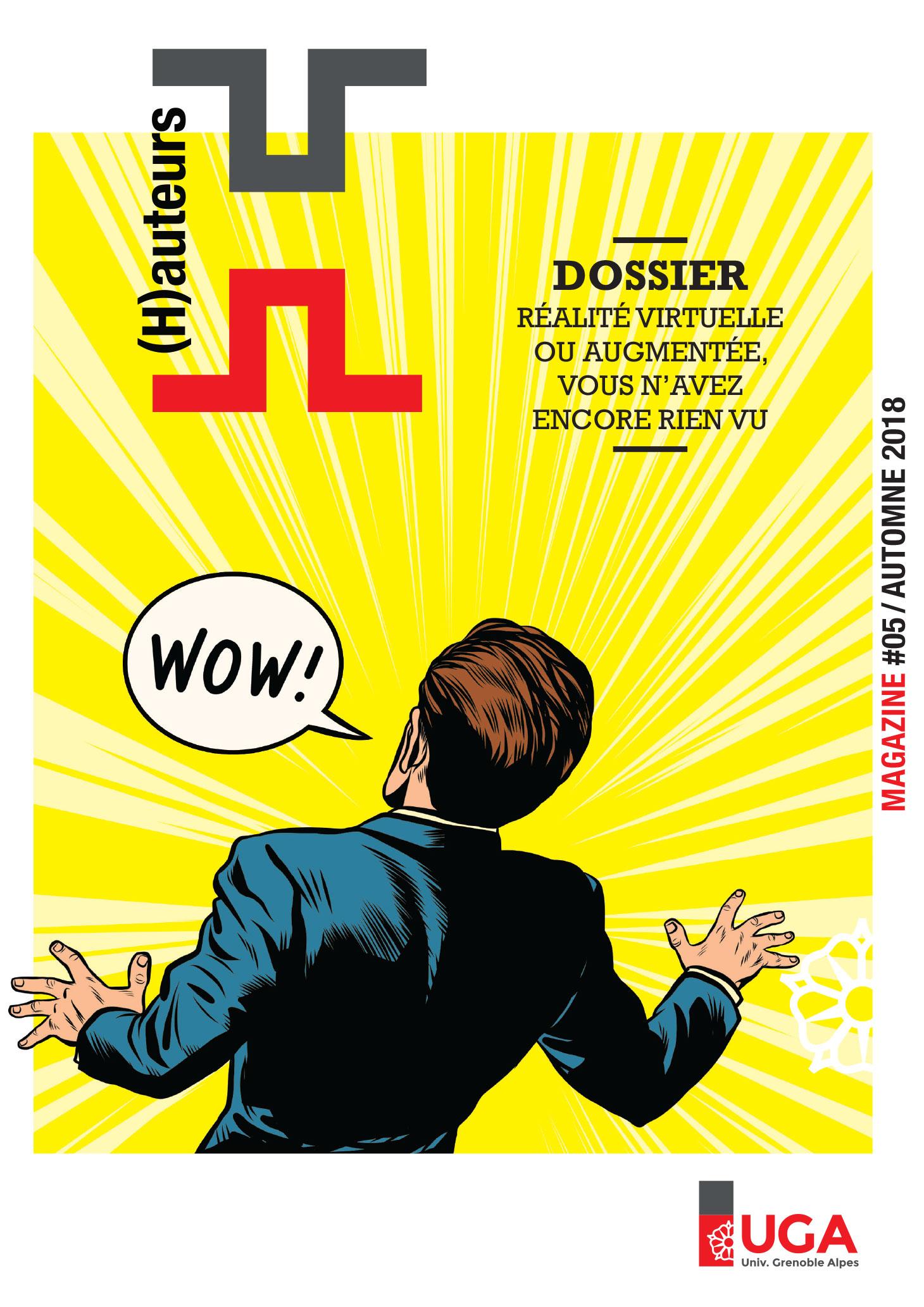 Couverture du numéro 5 du magazine (H)auteurs