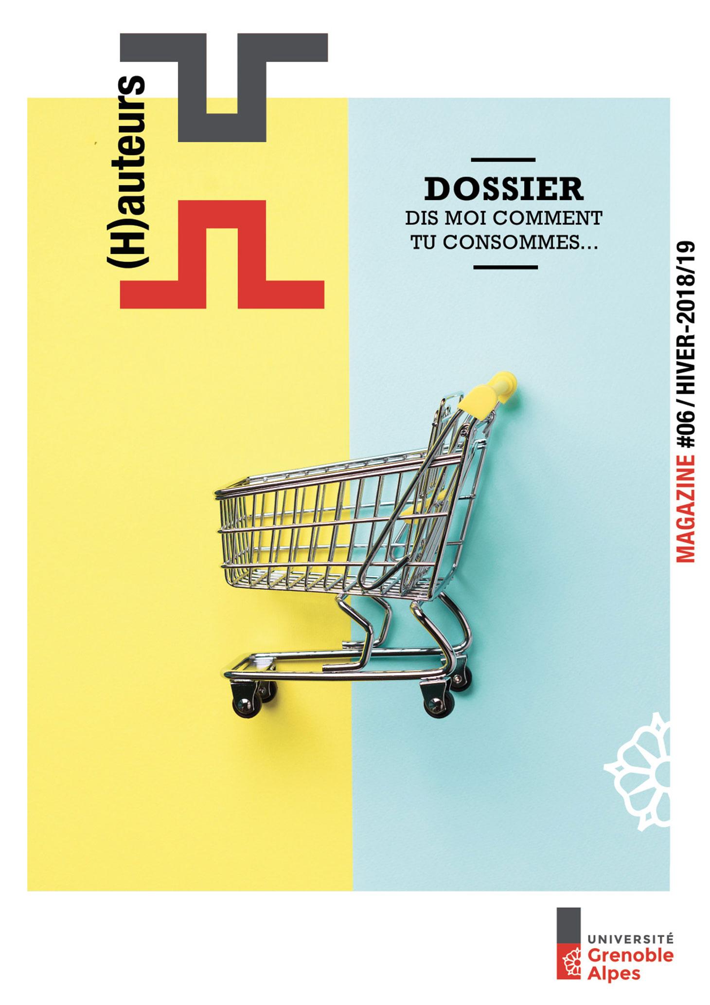 Couverture du numéro 6 du magazine (H)auteurs