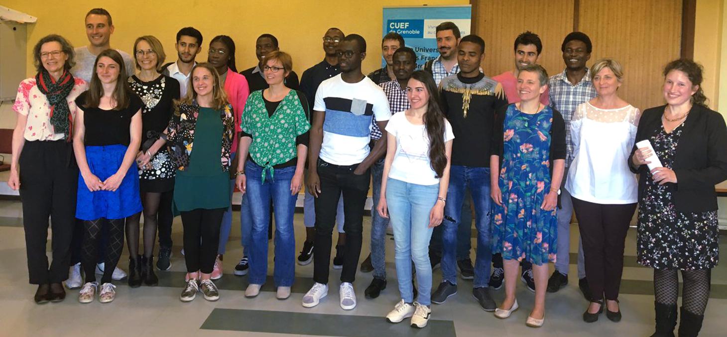 Cérémonie de fin d'année de la 4e promotion d'étudiants du DU PASS du CUEF
