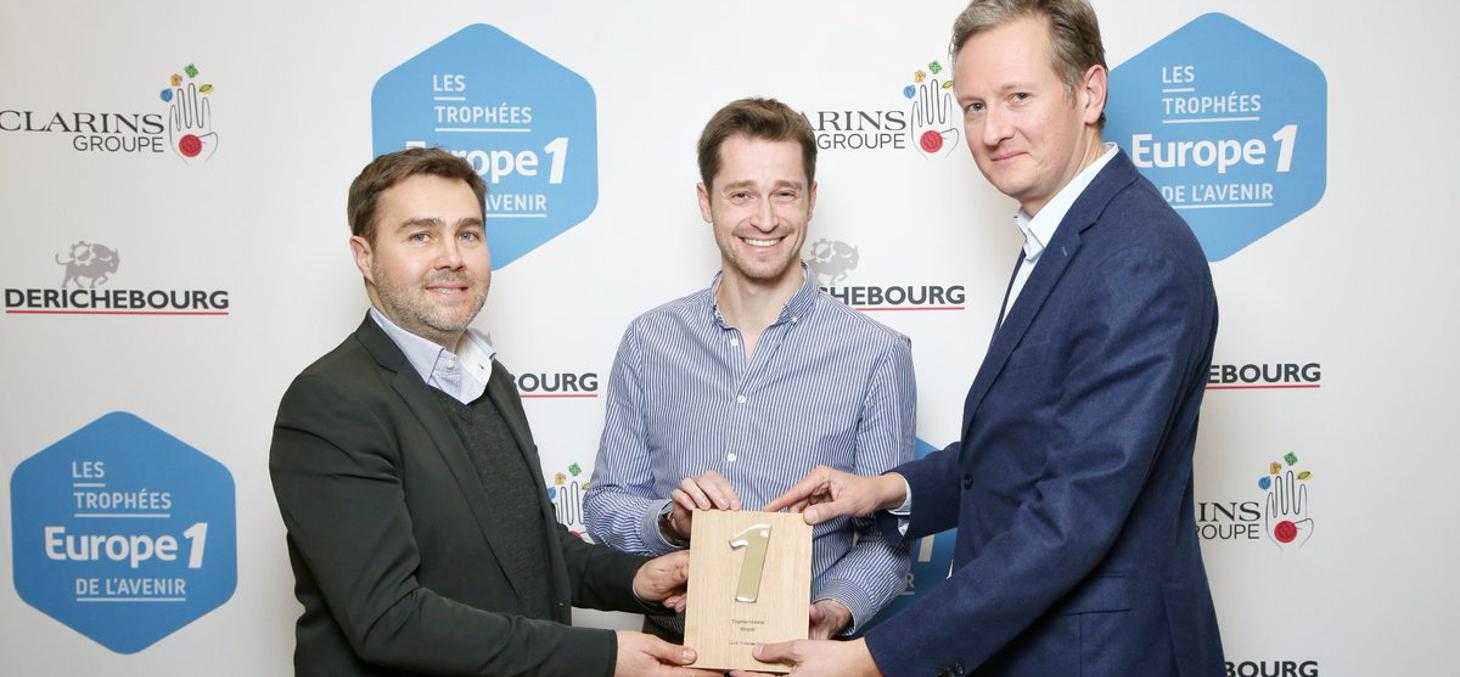 WeGoTo lauréate du Trophée Europe1 de la Mobilité