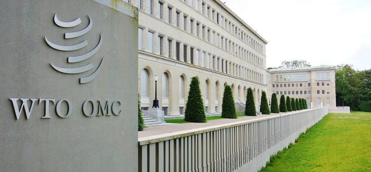 Le siège de l'Organisation mondiale du commerce à Genève, en Suisse. © Shutterstock