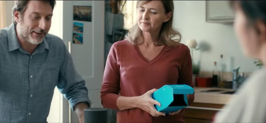 La publicité pour Alexa/Echo. Youtube