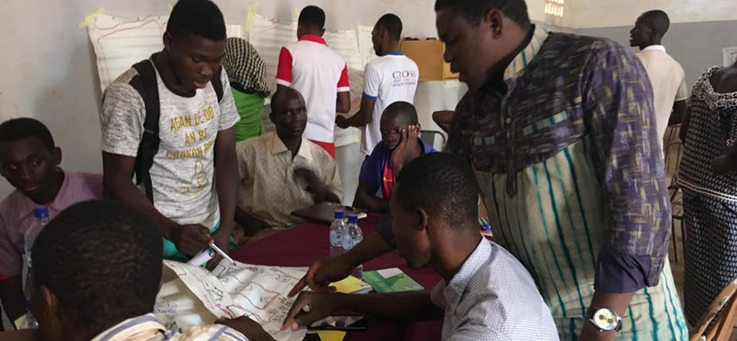 Atelier de préfiguration de la pépinière urbaine à Ouagadougou (Cabanon Vertical) Raphaël Besson, Author provided
