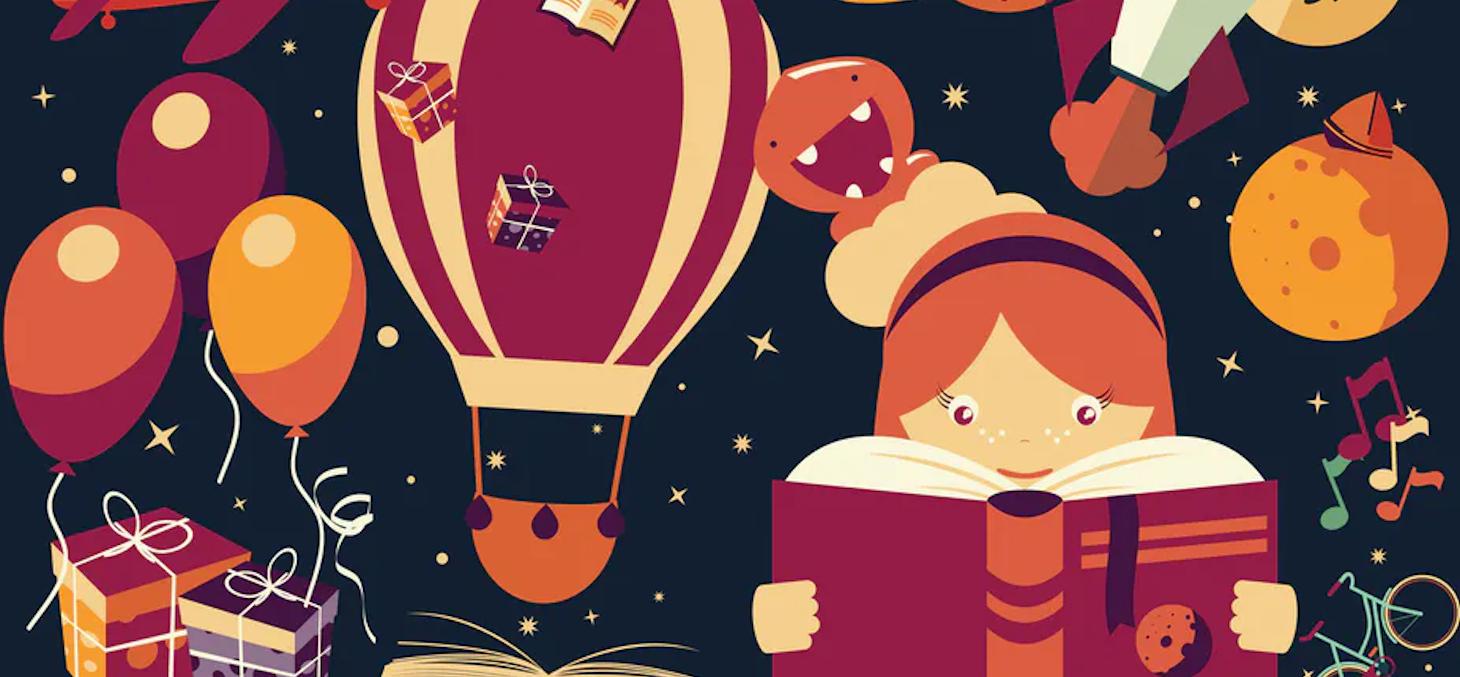 Entre lectures à voix haute ou adaptations animées, un grand nombre d'albums et de livres pour la jeunesse se déclinent sur Internet. Shutterstock