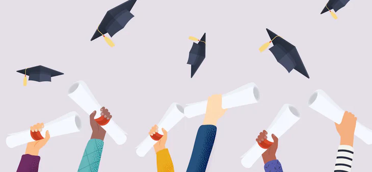 Au baccalauréat, « les résultats n'ont jamais été aussi élevés ». La réussite a augmenté de près de 8 % en 2020, s'élevant à 95,7 %. Shutterstock