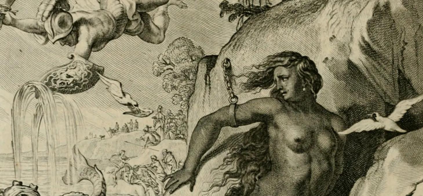 Détail du Tableau du temple des muses, M. de Marolles (1655). Wikimedia