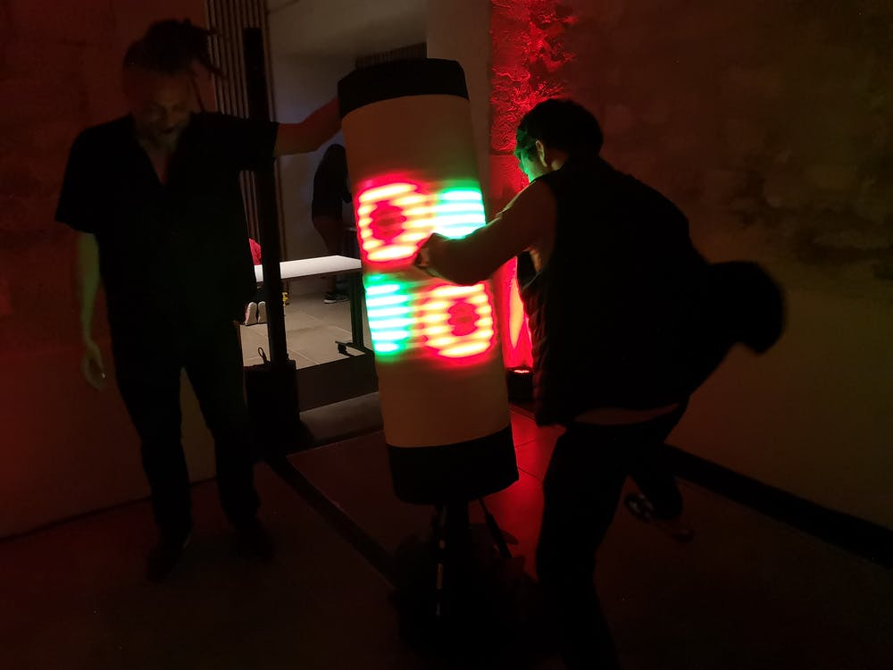 Hitbox présenté à la Nuit Blanche 2018 de Paris.