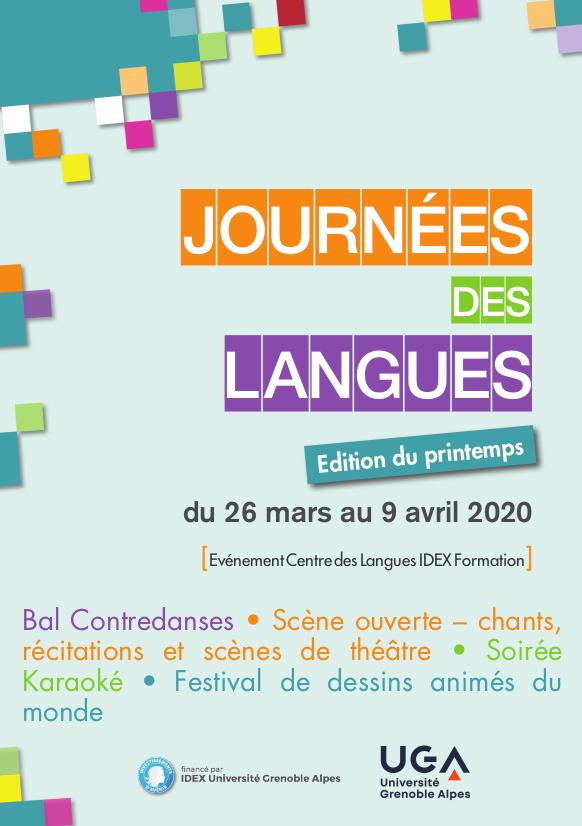 Journées des Langues 2020