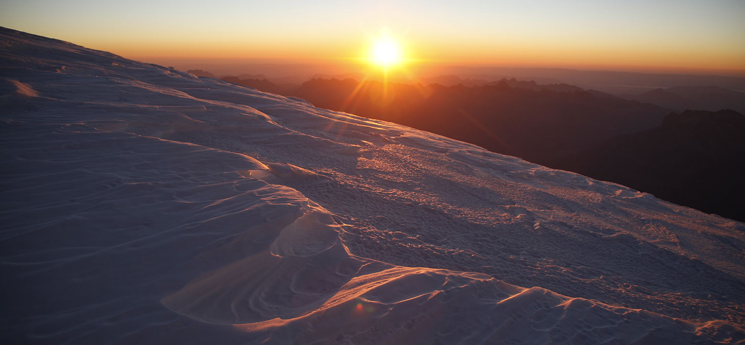 Vue du massif du Mont-Blanc © Sarah Del Ben / Wild Touch / Fondation UGA