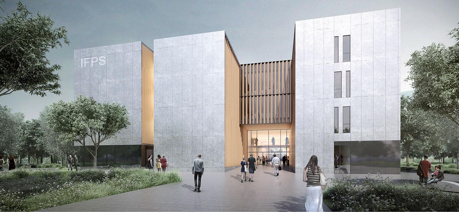 Institut de formation des professions de santé (IFPS) © Chabanne Architecte