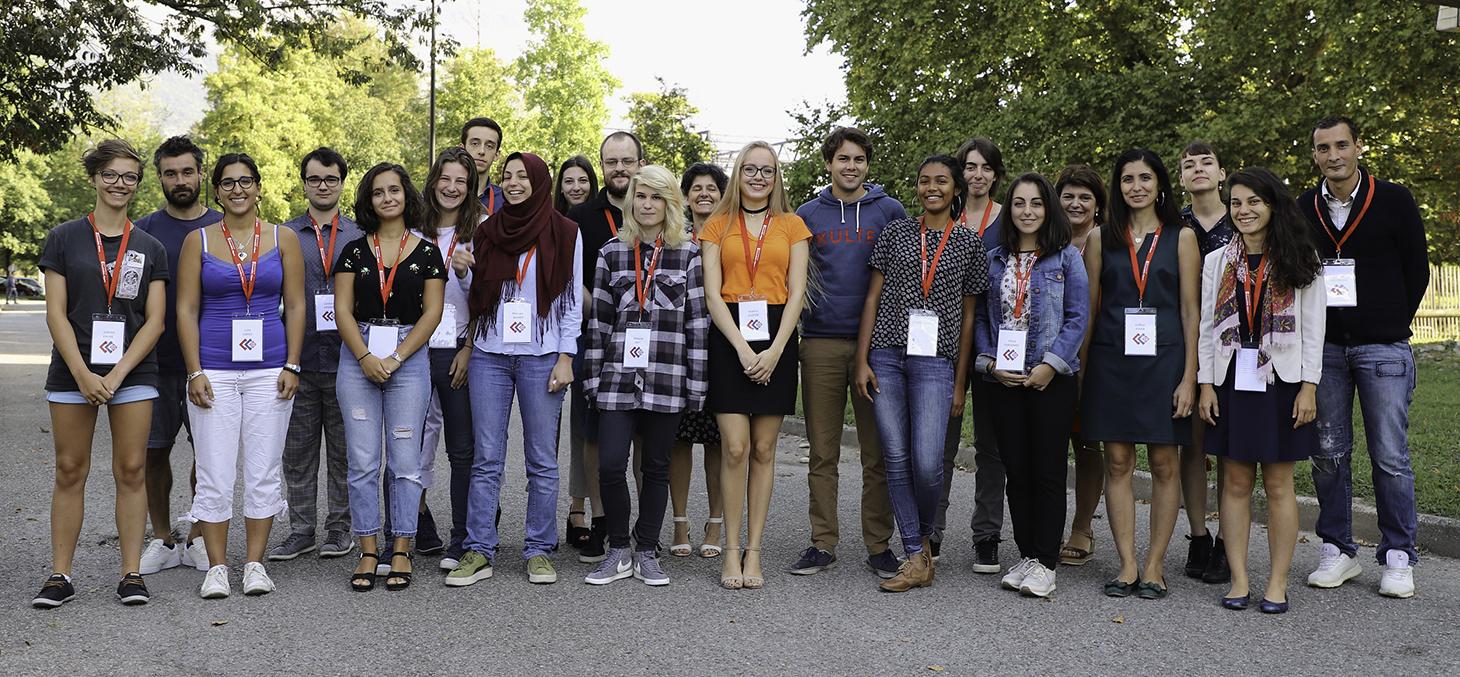 La première promotion d'étudiants du programme CitizenCampus © Thierry Morturier / Université Grenoble Alpes