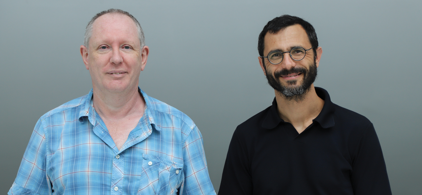 Pierre-Yves Longaretti et Emmanuel Prados  © Thierry Morturier / UGA