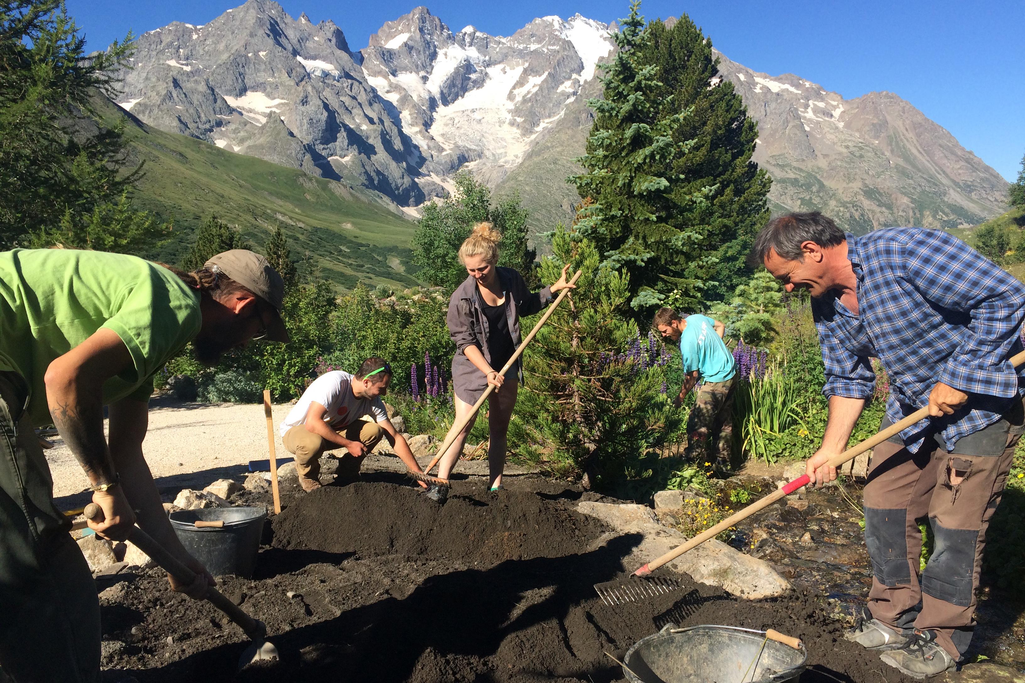 """Le plan """"Le Jardin en 2030"""" prévoit de reprendre l'ensemble des massifs et des rocailles qui composent le jardin centenaire."""