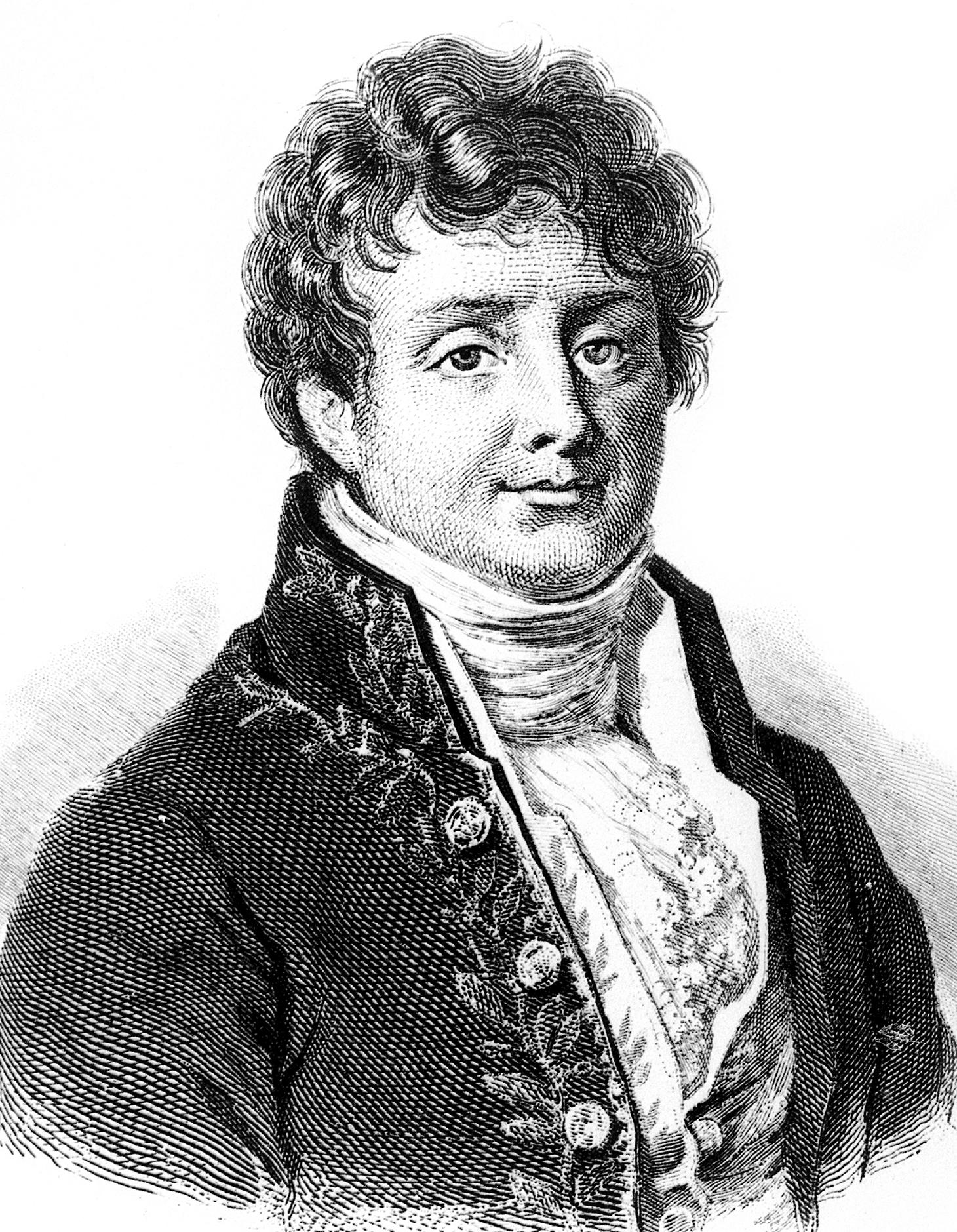 Portrait de Joseph Fourier (1768-1830)