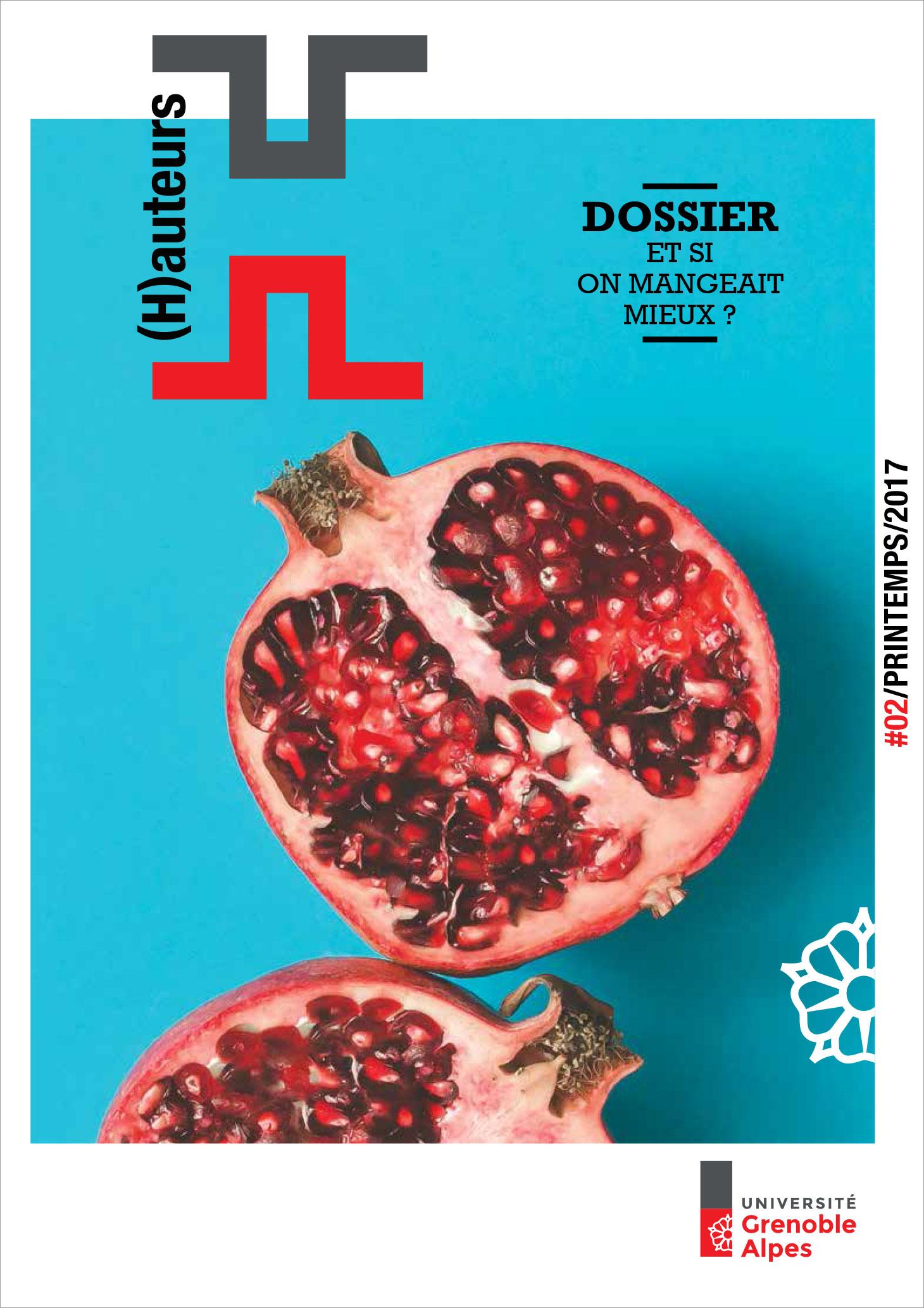 Couverture du numéro 2 du magazine (H)auteurs