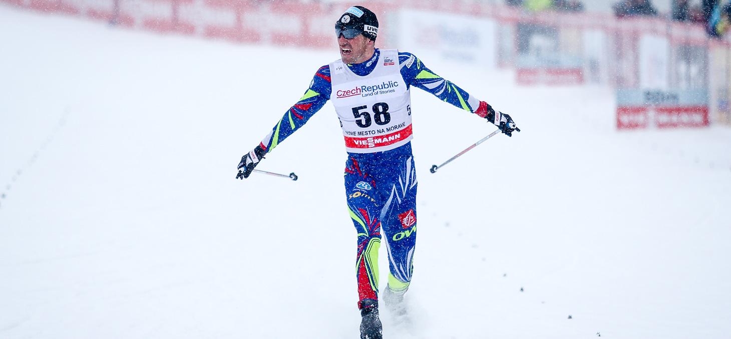 Maurice Manificat, médaillé olympique, vice-champion du monde ski de fond et premier étudiant diplômé d'Inter'Val © Shutterstock