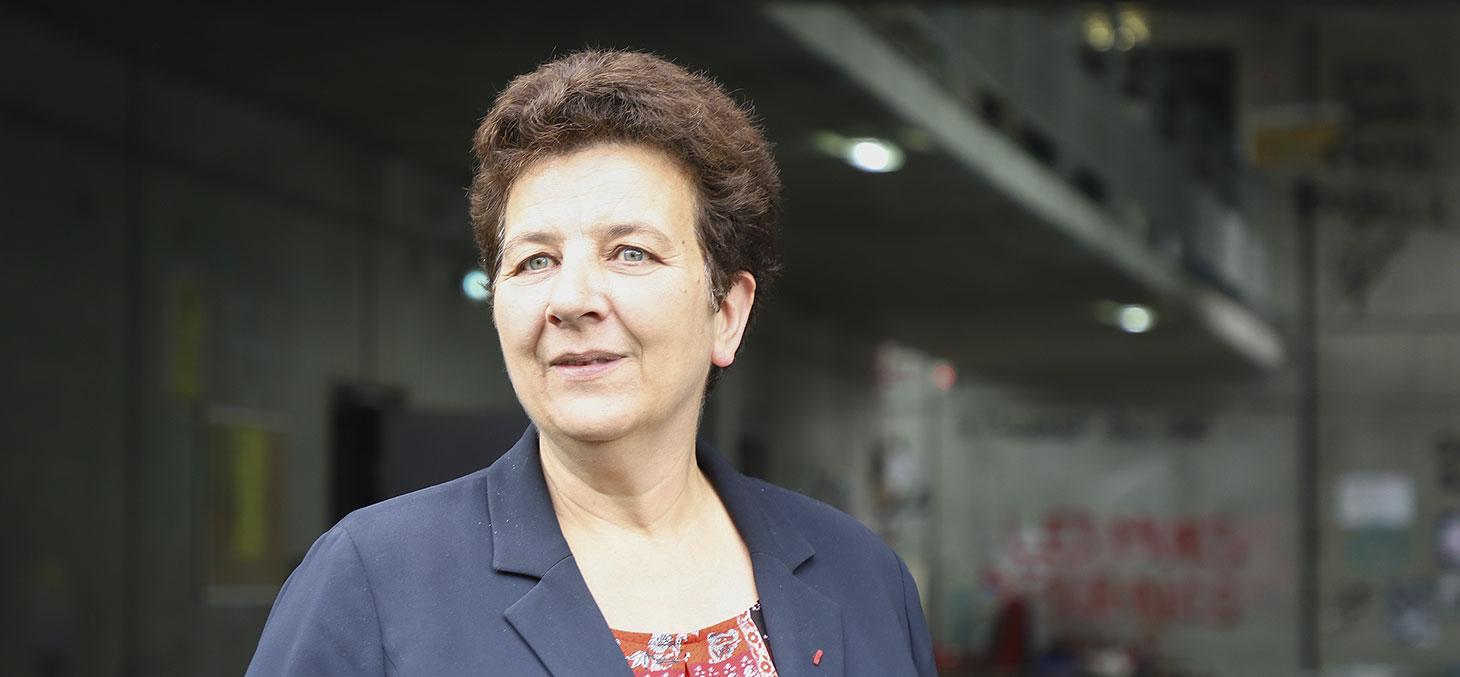 Frédérique Vidal, la ministre de l'enseignement supérieur, de la recherche et de l'innovation