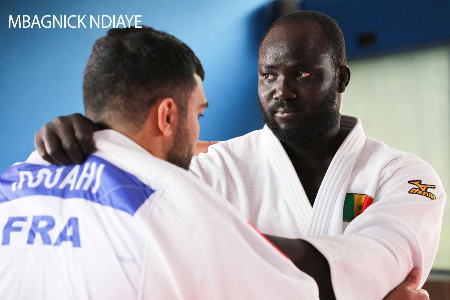 Mbagnick Ndiaye, étudiant sportif de haut niveau de l'UGA