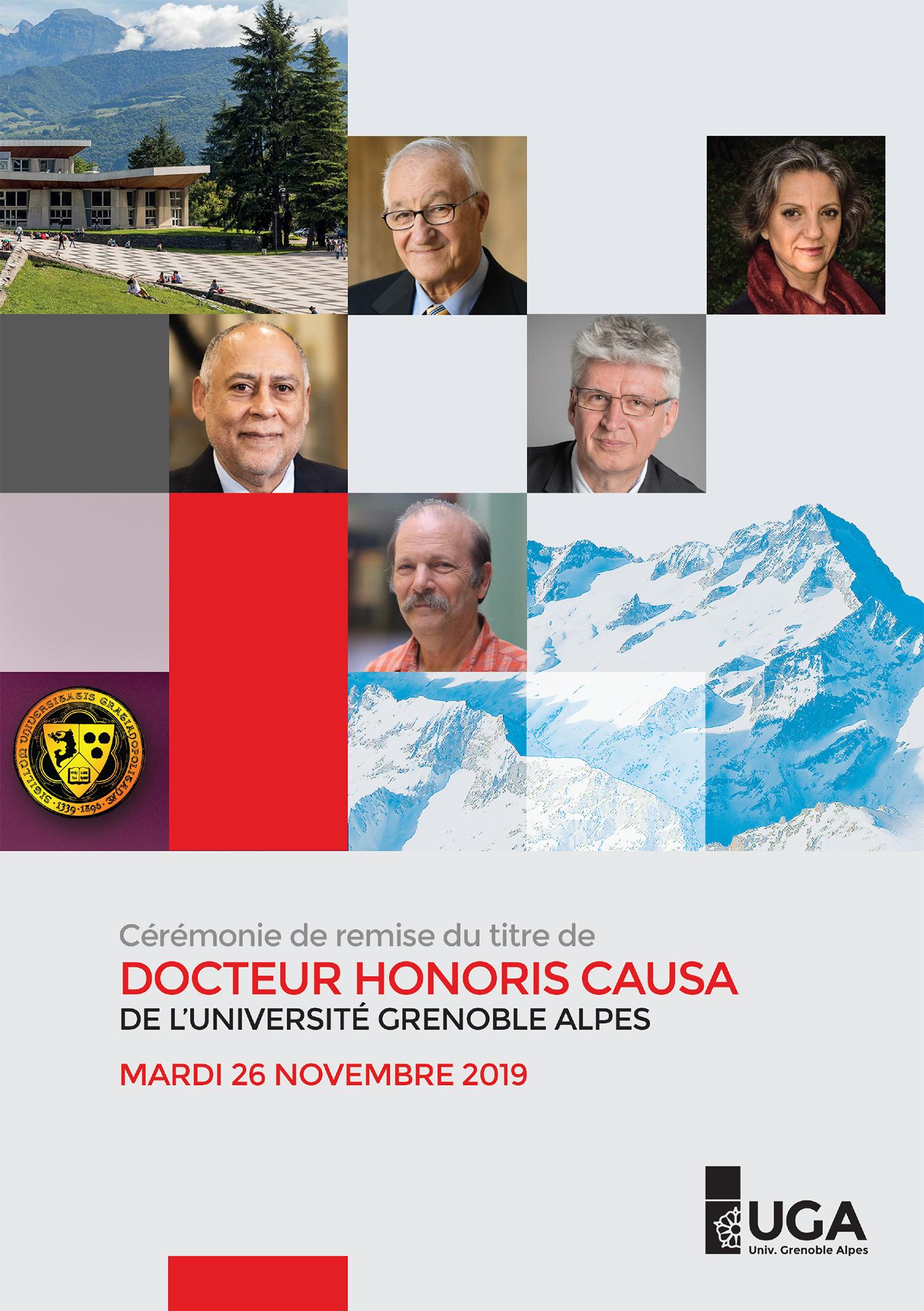 Programme de la Cérémonie Docteur Honoris Causa 2019