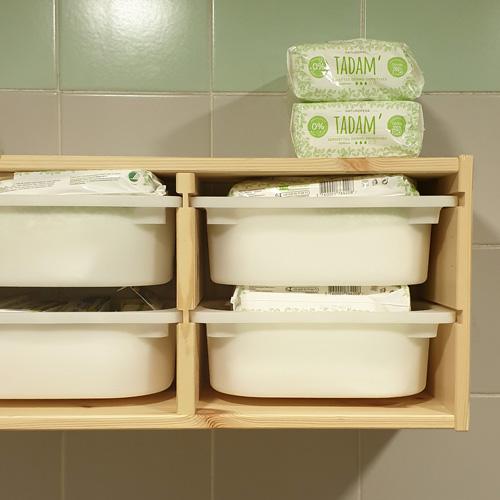 Les bacs de mise à disposition de protections hygiéniques dans les toilettes