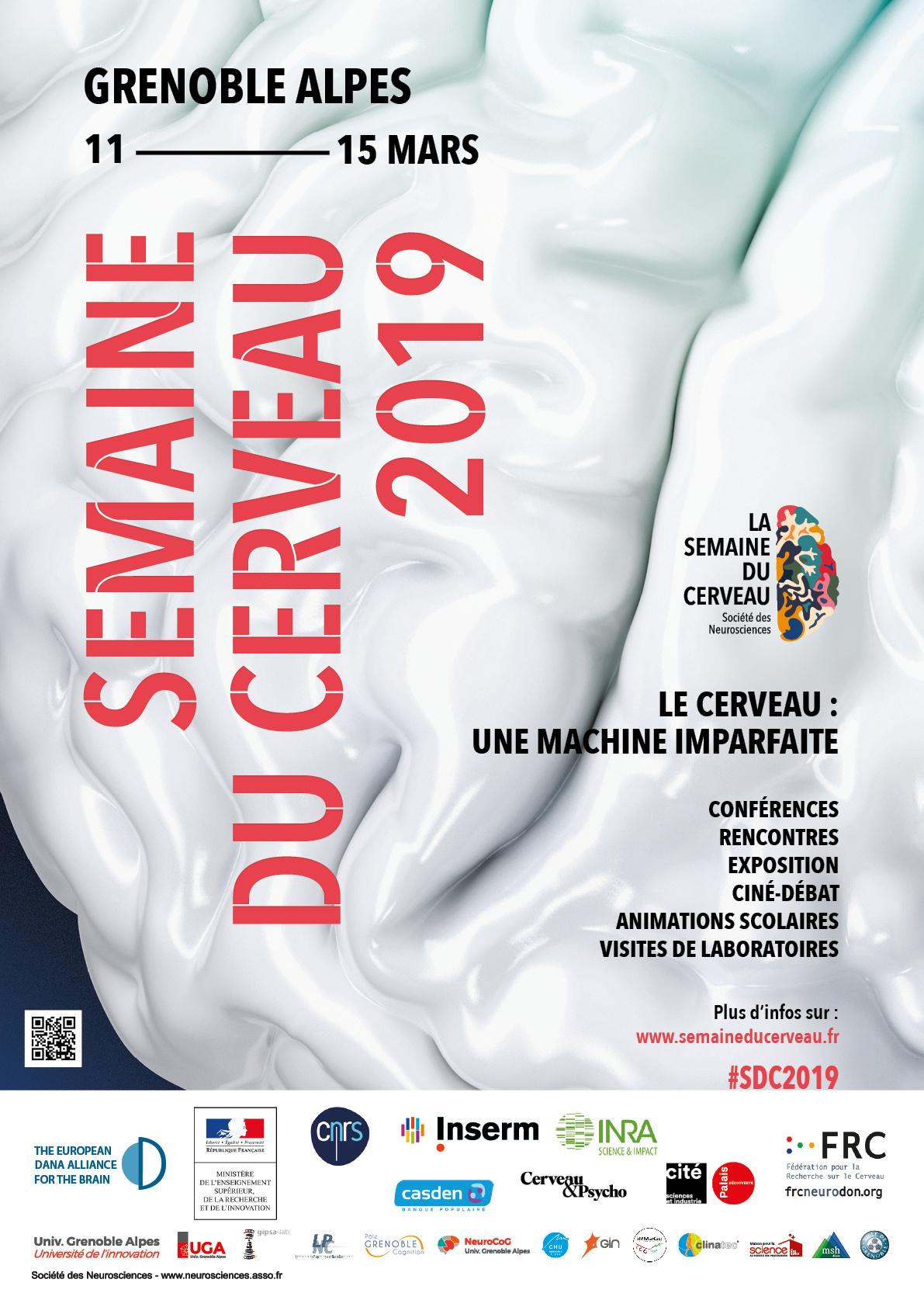 Affiche Semaine du cerveau 2019