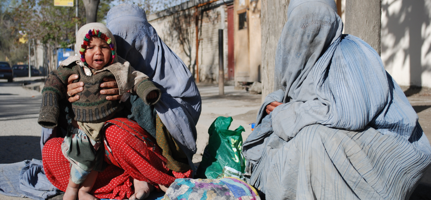 Plus de 14 millions d'Afghans sont menacés de famine à court terme selon le Programme alimentaire mondial. Shutterstock